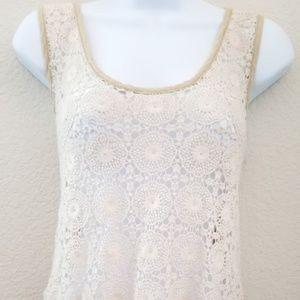 Ezra Cream Knitted Top